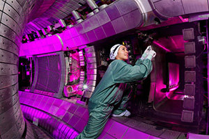 Interactive tour to the Garching fusion device<br /><br /><br />