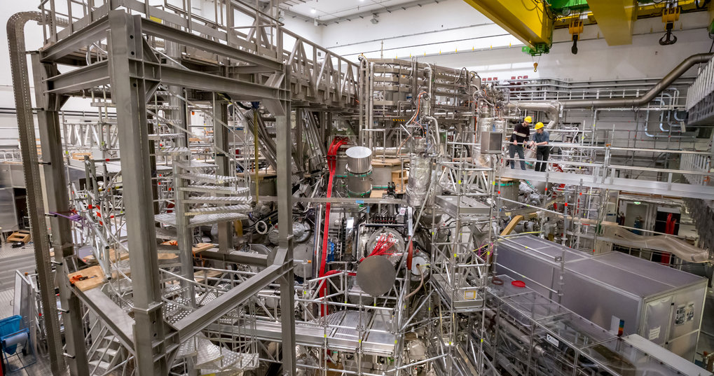 IPP's Greifswald Branch Institute is operating the world's largest stellarator, Wendelstein 7-X.