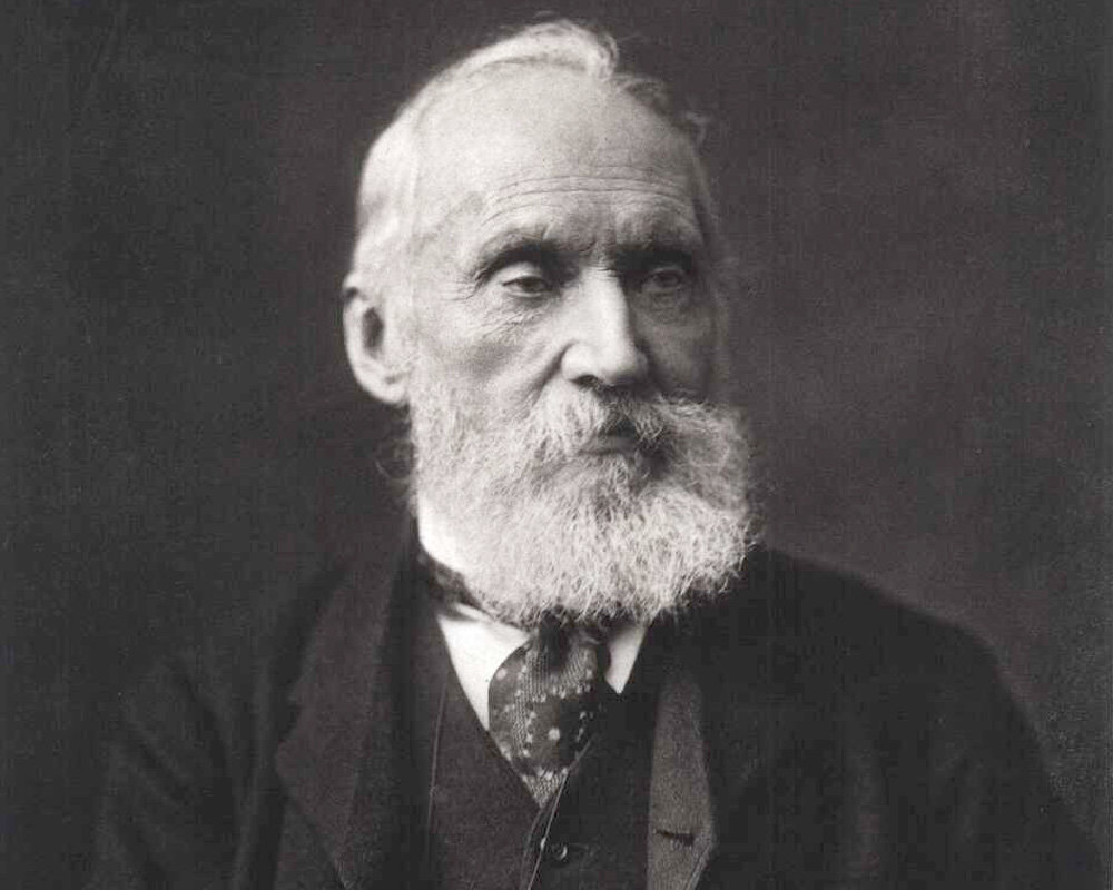William Thomson asked in 1862: Does the sun's own gravity make it contract? Does this compression produce heat and light? (photo: Wikipedia/Public Domain)