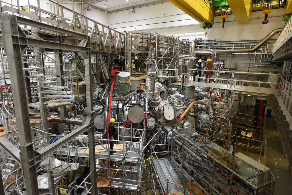 The Wendelstein 7-X fusion device