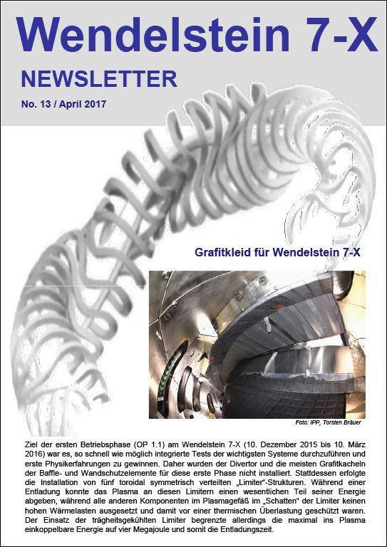 New issue of the Wendelstein Newsletter
