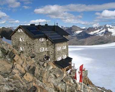 Schutzhütte alpen